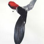 Lupe Godoy, Hybriden IV, Collage, Mischtechnik auf Papier, 40 x 30 cm, 2014