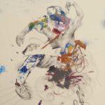 Manic Primate - 72 cm x 57 cm, Loner Party, Steven Ketchum, artfein GALLERY
