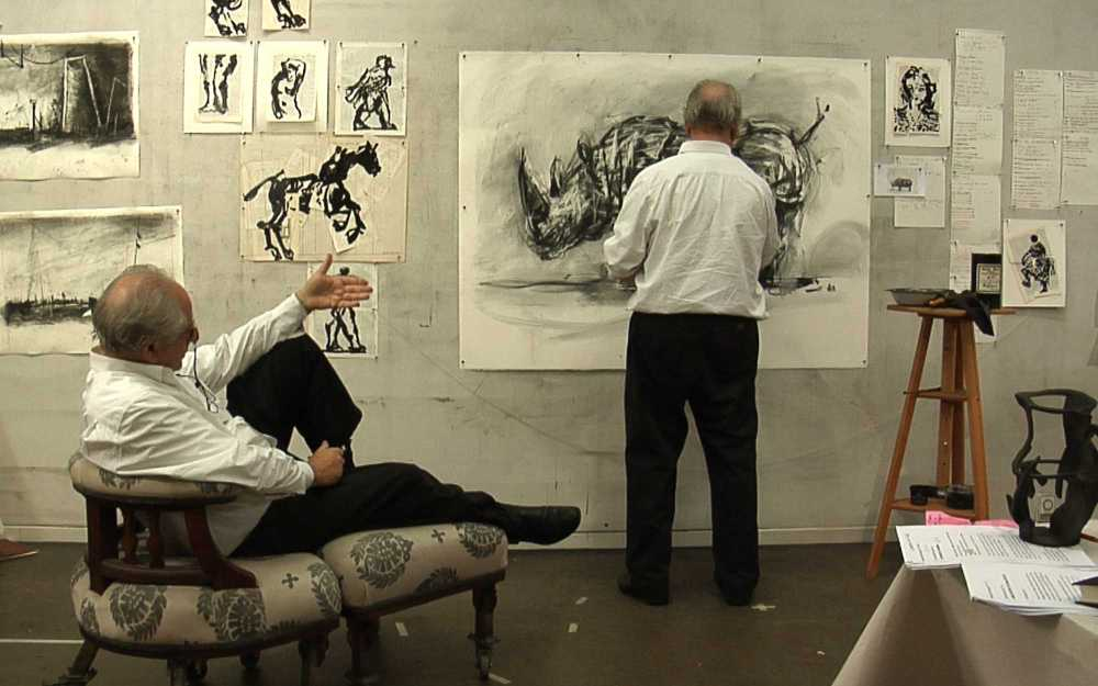 William Kentridge SIX DRAWING LESSONS © Courtesy the artist, Marian Goodman Gallery (New York, Paris, London); Goodman Gallery (Johannesburg, Cape Town) and Lia Rumma Gallery (Naples, Milan)
