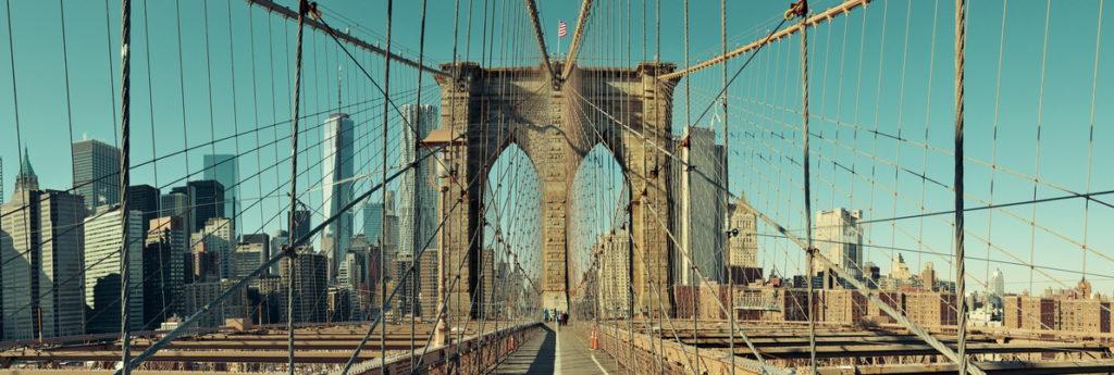 Auf der Brooklyn Bridge werden wir wahrscheinlich die meisten Bilder für Euch machen!