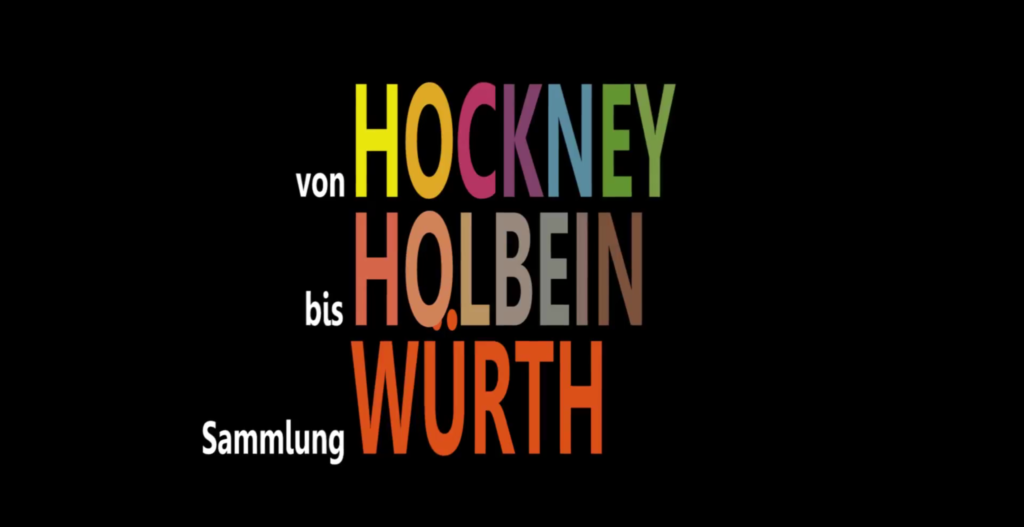 Sammlung-Würth-Hockney-Holbein