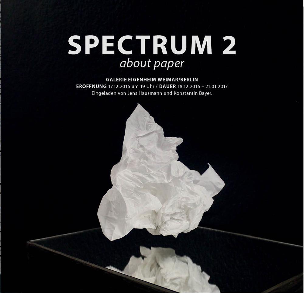 Spectrum 2, galerie eigenheim
