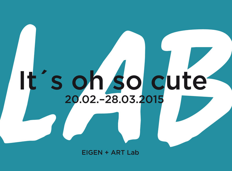Eigen + Art lab: It's oh so cute