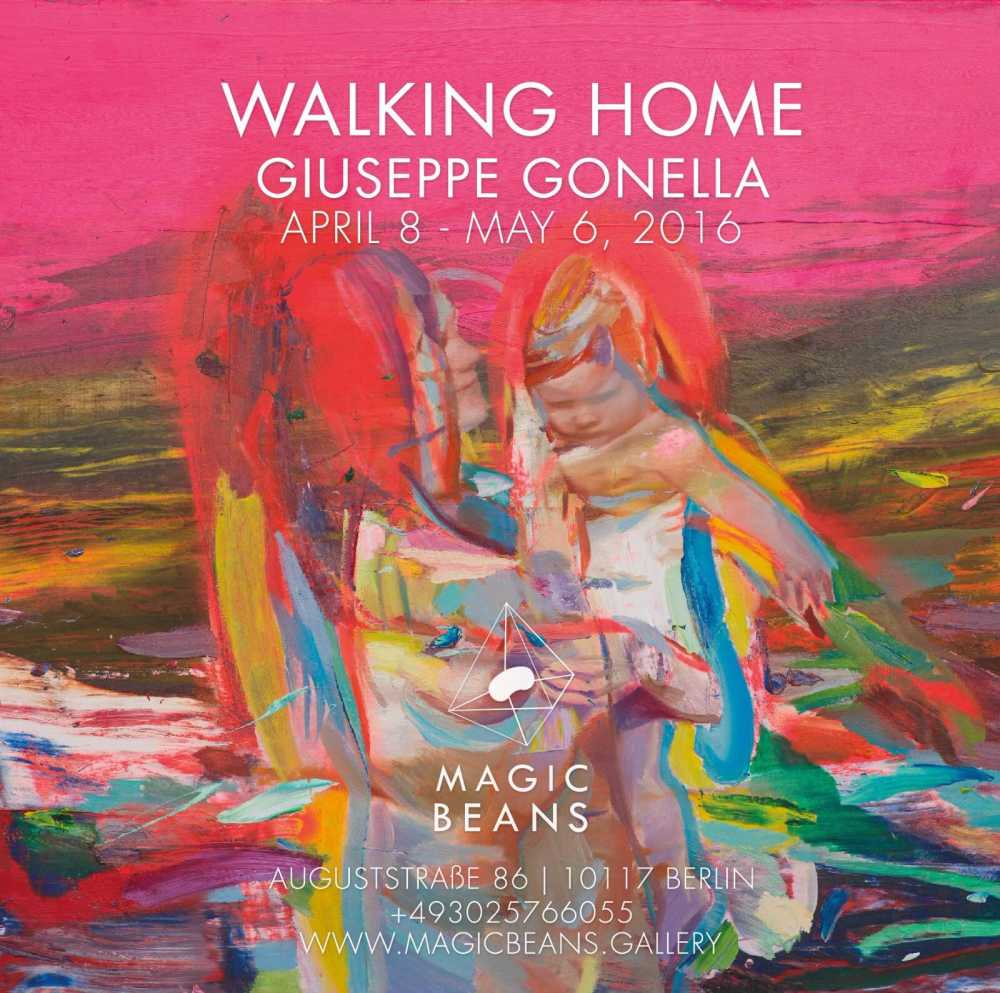 parental love 2 2015 100x120cm oil on canvas_11_b_0364, Magic Beans, Giuseppe Gonella, Walking Home
