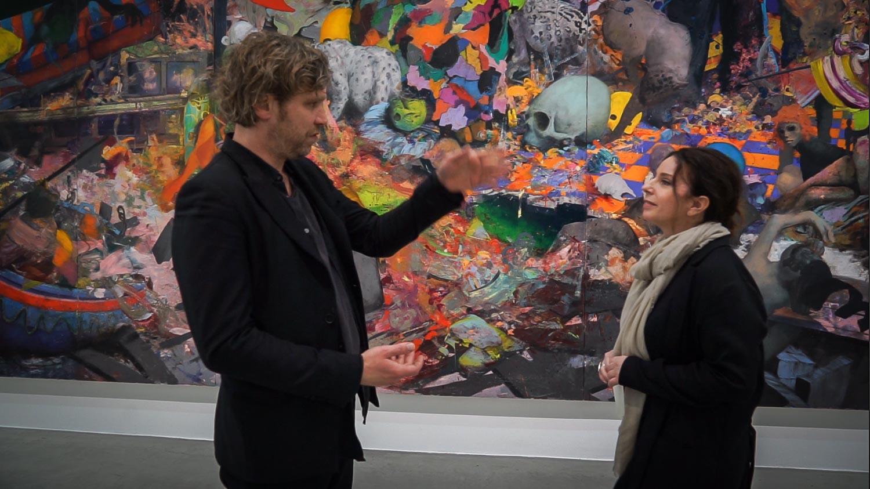 Jonas Burgert mit Romy Campe KUNSTLEBEN BERLIN