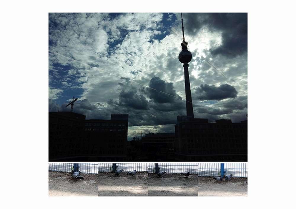 o. T., 2016, Fotografien auf 21 x 29,7 cm © Ahmad Yasine