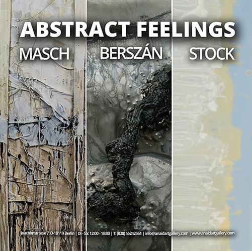 Abstract Feelings, Gruppenausstellung in der Anaid Art Gallery