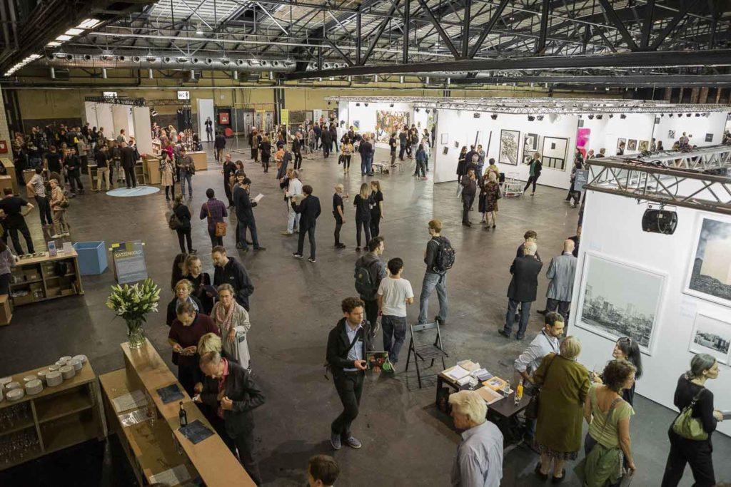 POSITIONS Berlin Art Fair Messe / Fair, Foto: Oana Popa
