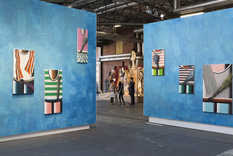 abc art berlin contemporary 2016 Messe / Fair, Sprüth Magers, Andreas Schulze, Foto: Stefan Korte