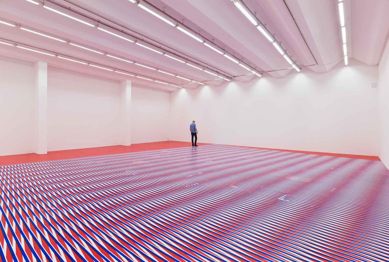 Caroline Kryzecki in der Sexauer Galerie, Kunstleben Berlin