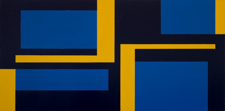 Christian Roeckenschuss, K356, 80x160cm, 1960, Köppe Contemprorary
