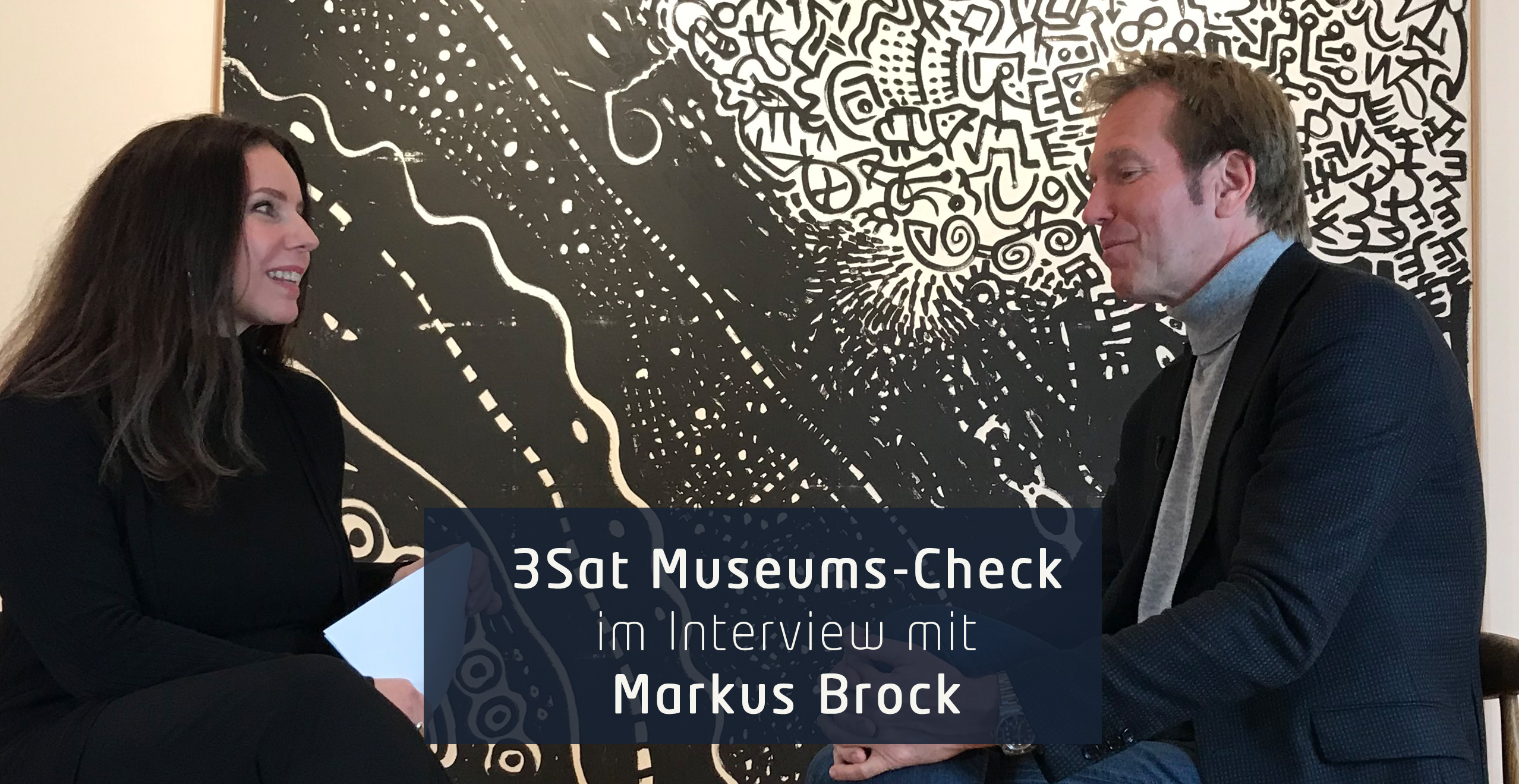 Kunstleben Berlin trifft Markus Brock vom Museums-Check.