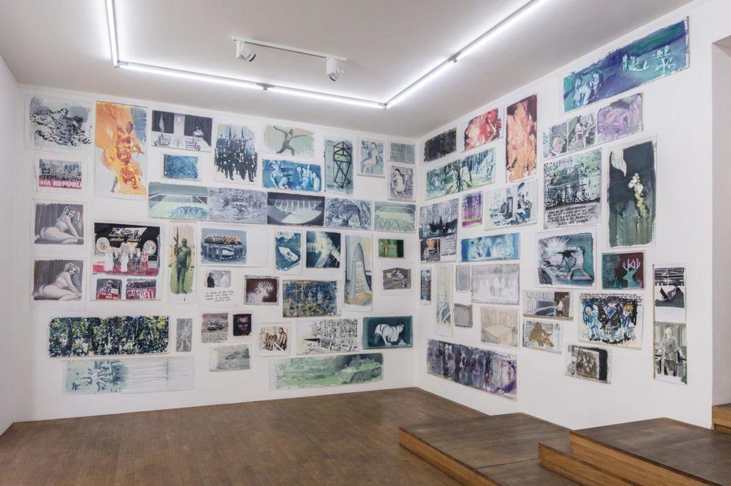 VLAD YURASHKO bei Kuckei + Kuckei © Installationsansicht Kuckei + Kuckei