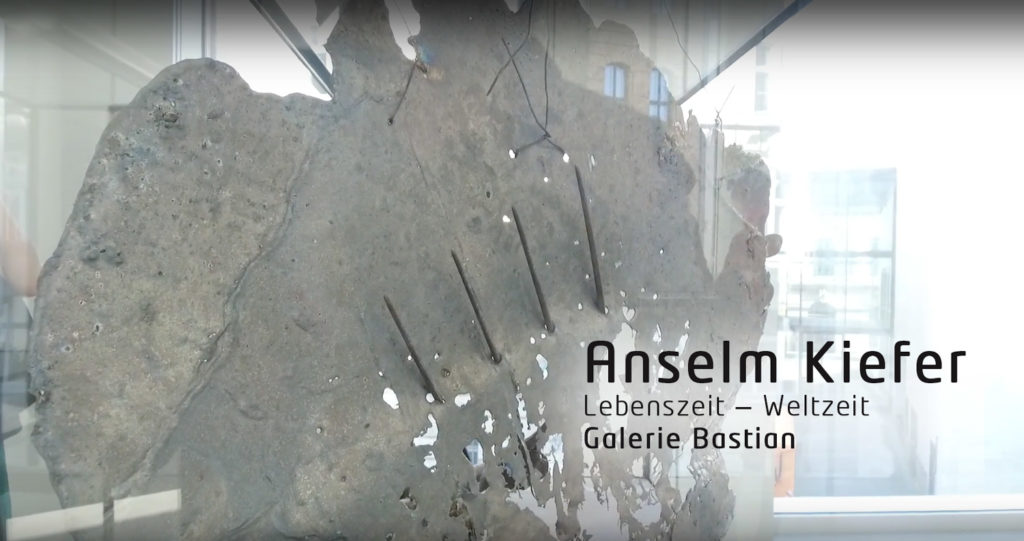 Anselm Kiefer, Lebenszeit - Weltzeit, Galerie Bastia