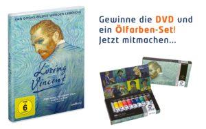 Loving Vincent, DVD, Gewinnspiel
