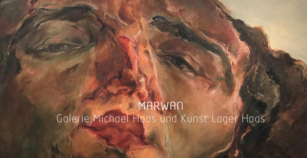 Marwan bei Galerie Michael Haas und Kunst Lager Haas