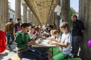 Aktionstag Familie auf der Museumsinsel Berlin© Staatliche Museen zu Berlin / Valerie Schmidt