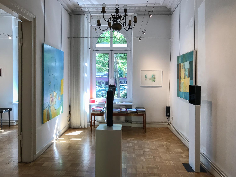 Galerie Sievi zeigt Sabine Puschmann und Martin Hollebecq
