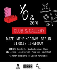 ART MEETS CLUB, CLUB MEETS CHARITY