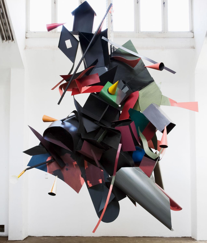 Auke de Fries in der Galerie Michael Haas