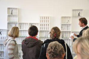 Offene Ateliers, atelierfuehrung_lange_nacht_der_museen_Besucher