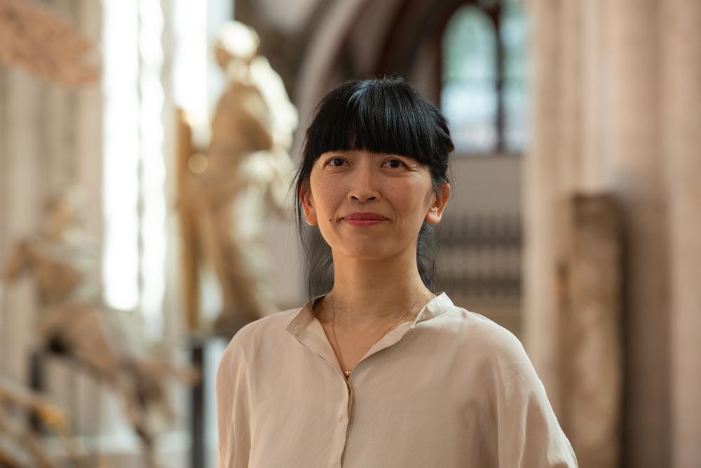 Hanna-Höch-Preis: Die Künstlerin Sunah Choi im Museum Nikolaikirche © Stadtmuseum Berlin | Foto: Oliver Ziebe