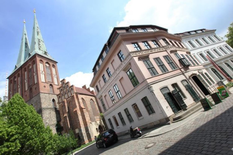 Nikolaikirche und Knoblauchhaus © Stadtmuseum Berlin | Foto: Michael Setzpfandt