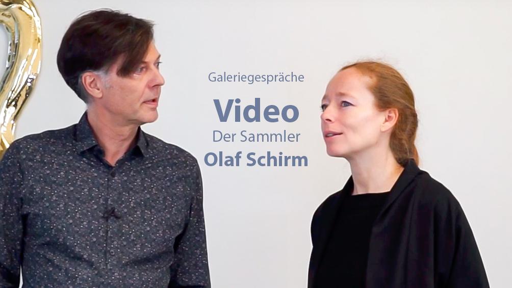 Galeriegespräche - der Sammler Olaf Schirm im Gespräch mit Jana Noritsch von Collectors Club Berlin, Sammlung Schirm