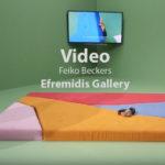 Video Feiko Beckers in der Efremidis Gallery