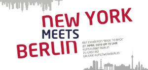 New York meets Berlin 2019, Kunstleben Berlin bei Kunstwerkberlin