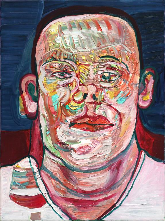 Petra Flierl, 2017: Öl auf Leinwand 40 x 30 cm: Galerie Parterre Berlin