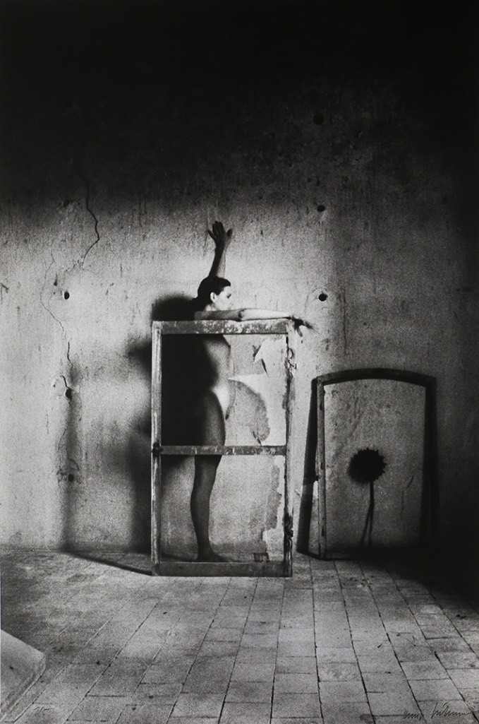 Karin Székessy, Simone gerahmt, 1999, Galerie 36, Berlin