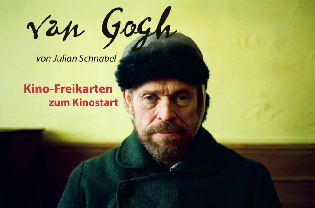 Van Gogh, an der Schwell zur Ewigkeit. Kinostart und Freitickets, Kinogutschein