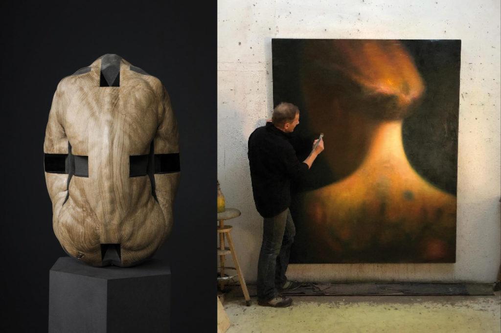 Robert Bosisio, Gregor Gaida, body dialogue, Galerie Martin Mertens