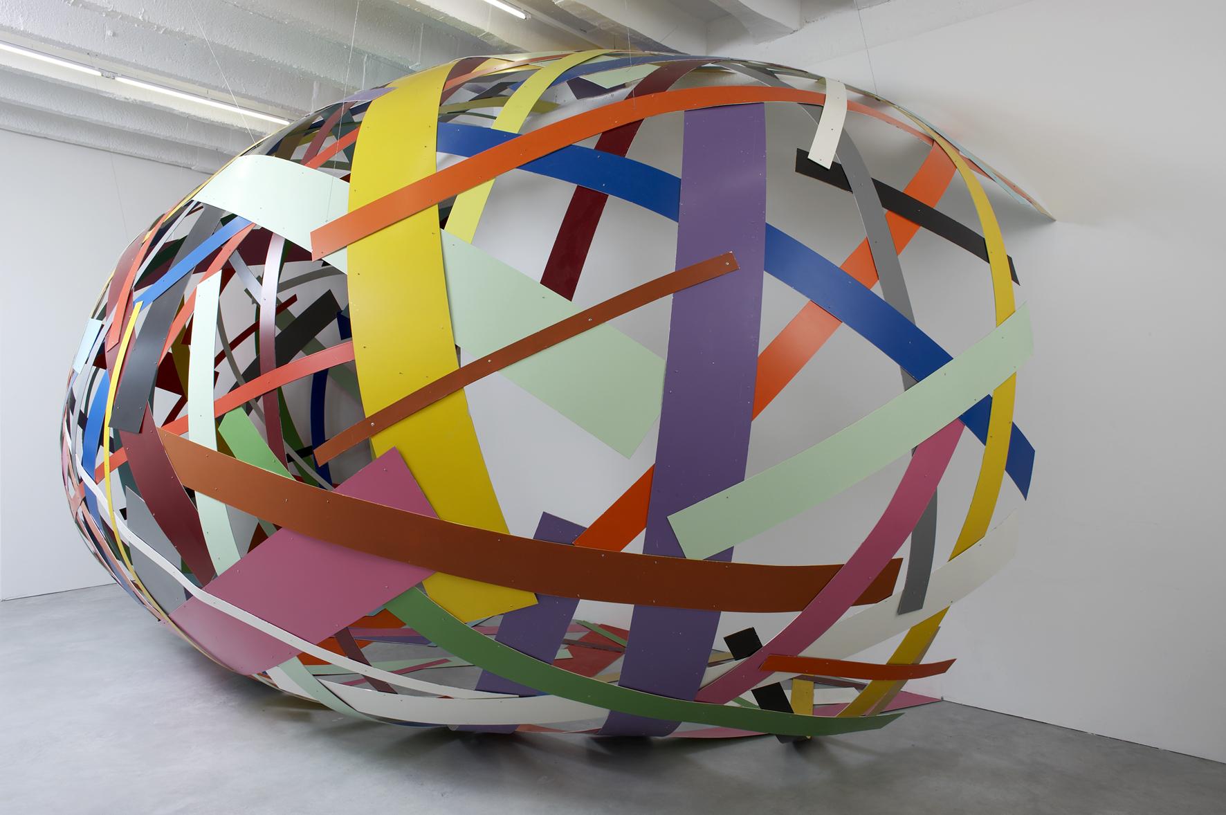 Beat Zoderer | crisscross & monoliths | Taubert Contemporary