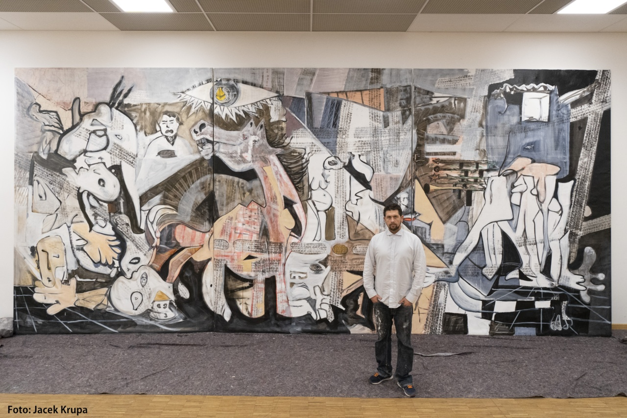 Michael Dyne Mieth trifft Pablo Picasso
