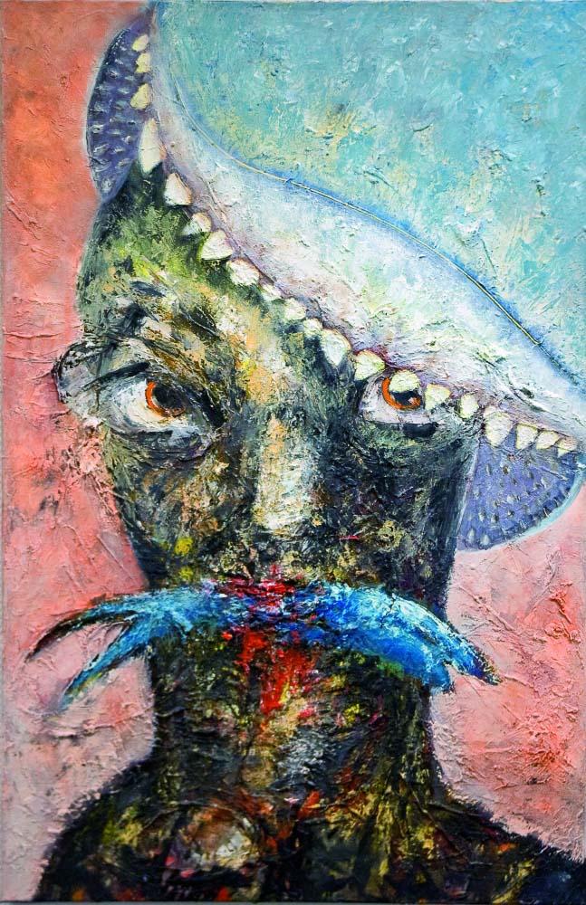 Eat or be eaten. © Martin Heinig (mit freundlicher Genehmigung der Galerie Schöneweide)