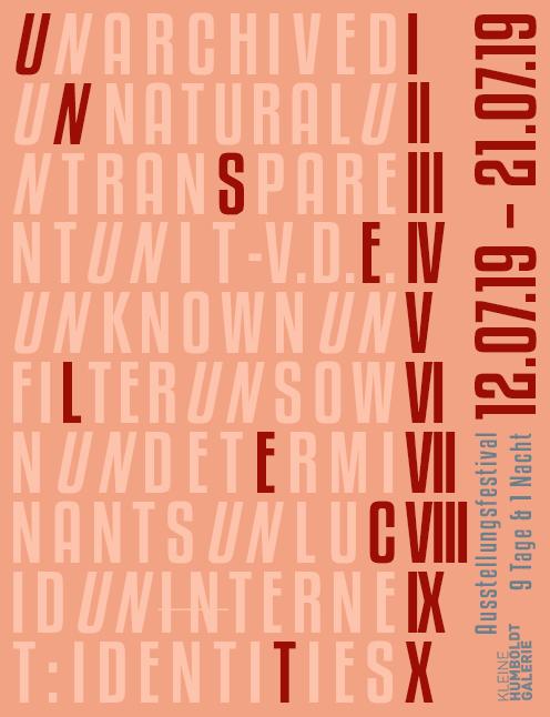 Unselect Ausstellungsfestival - Kunstleben Berlin - das Kunstmagazin
