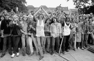 """""""Langeweile"""" von Pankow, Berlin-Pankow, 1987 (Bild: Jürgen Hohmuth / zeitort)"""