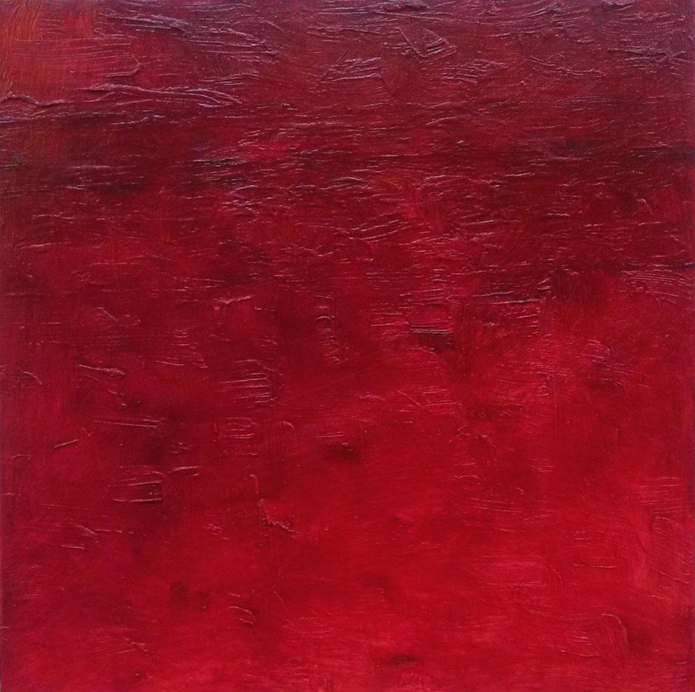 Immanent - rot. © Matthias Moseke (mit freundlicher Genehmigung der Galerie Schöneweide)