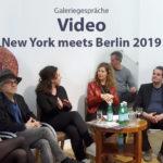 Video - Galeriegespräche - New York meets Berlin 2019