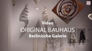 original bauhaus in der Berlinischen Galerie