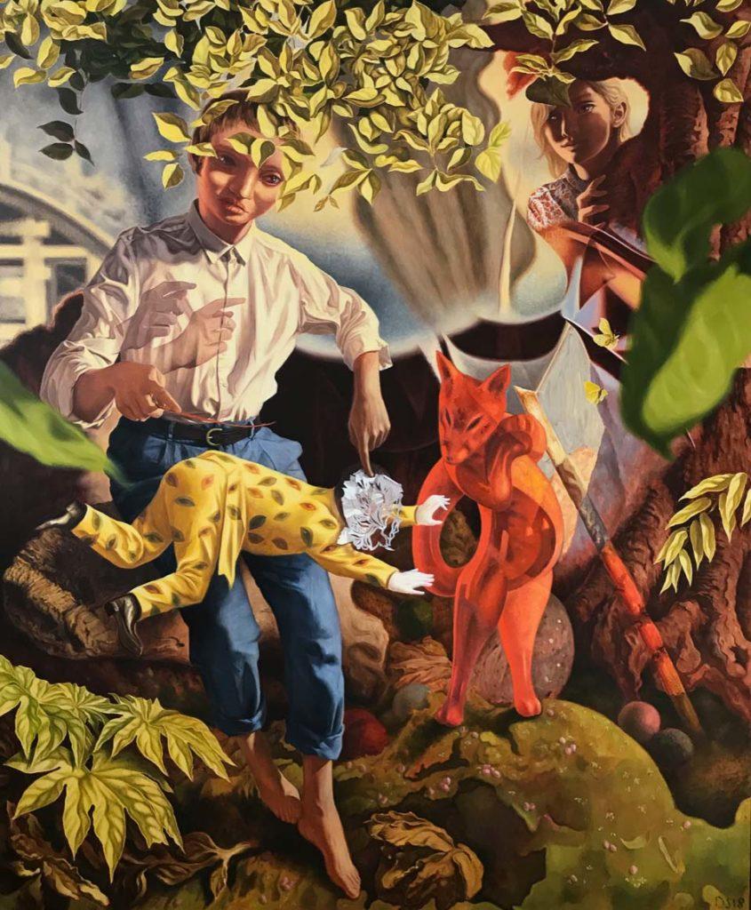 Dennis Scholl - Gefährdenden Spiele - Galerie Michael Haas
