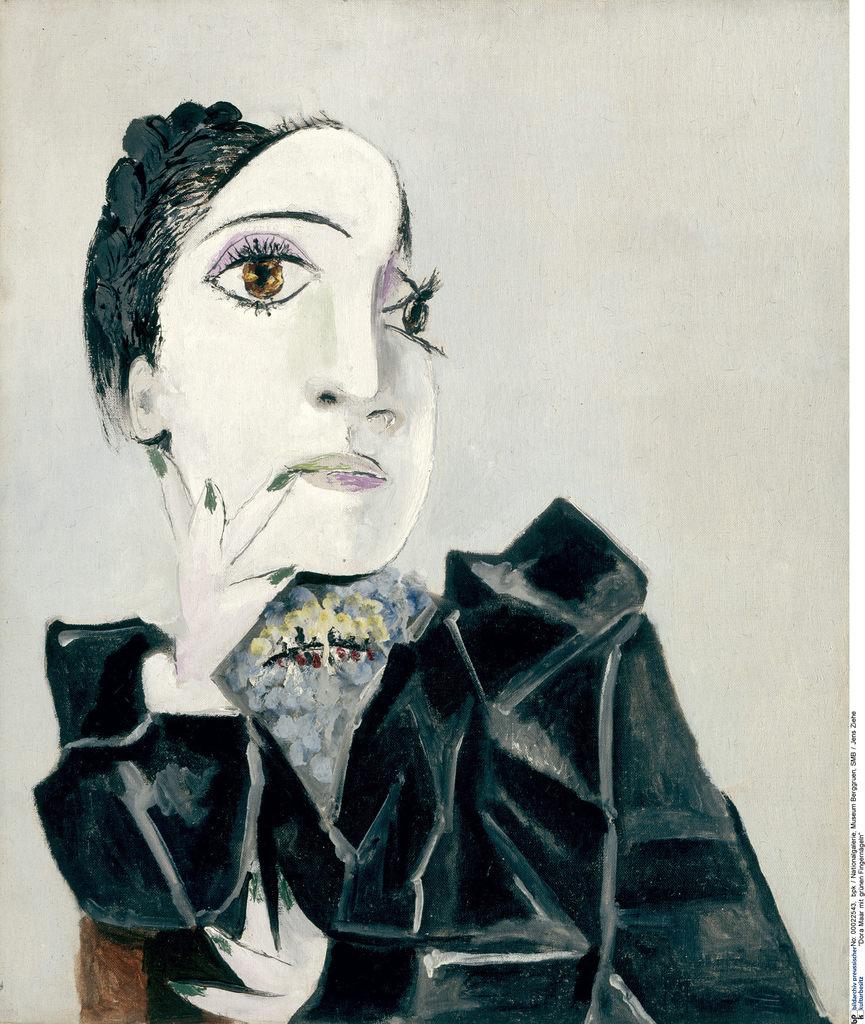 Pablo Picasso, Dora Maar mit grünen Fingernägeln, 1936 © SMB, Museum Berggruen, Foto: Jens Ziehe © Succession Picasso / VG Bild-Kunst