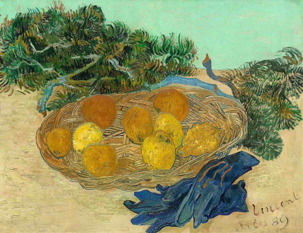 Stillleben Barberini 2019 van gogh f_502 stillleben mit orangen zitronen handschuhen (c) washington national gallery-2