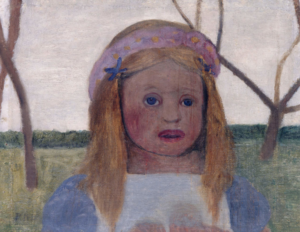 Kampf um Sichtbarkeit Alte Nationalgalerie SMB Kuenstlerinnen Modersohn Becker Paula Maedchen