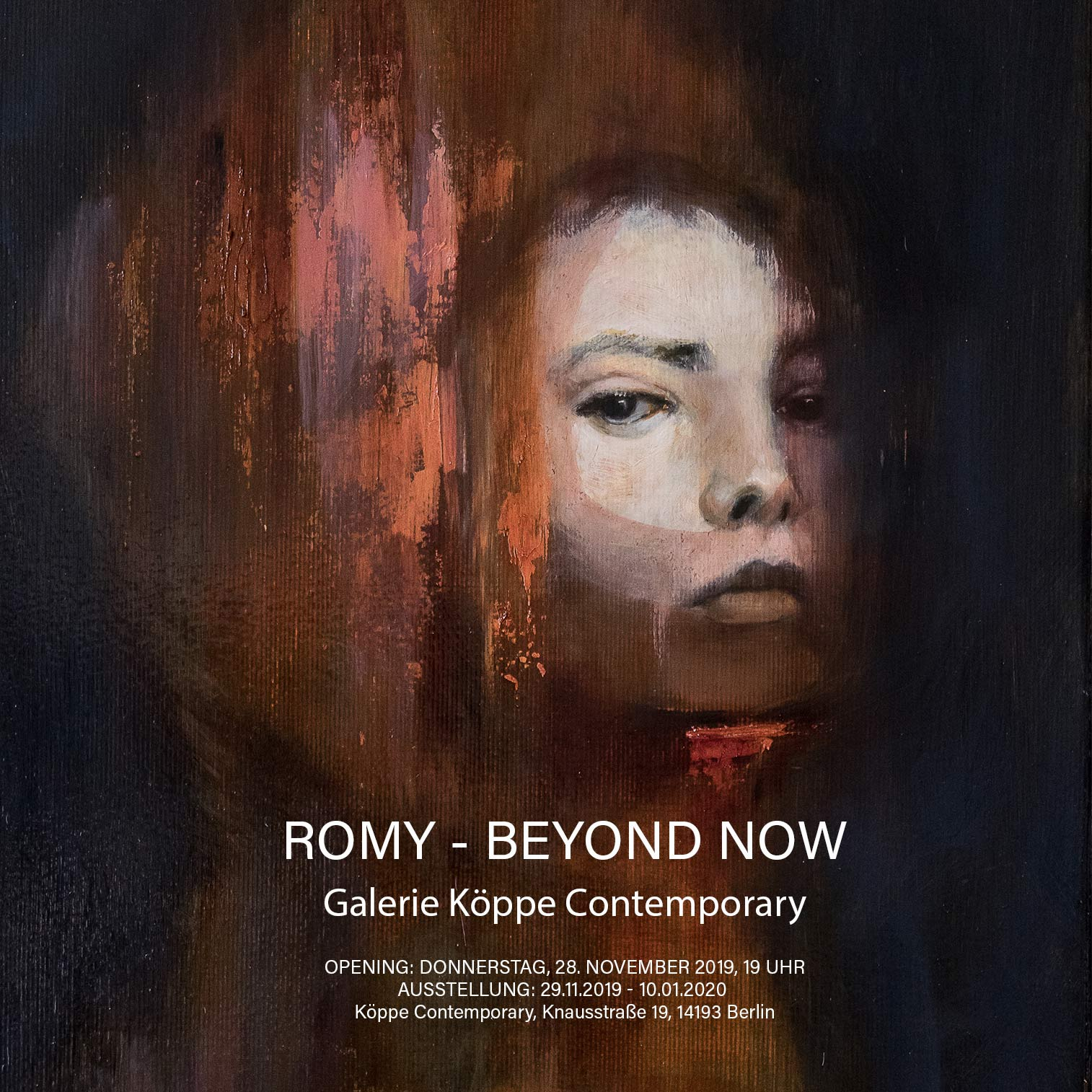 ROMY - BEYOND NOW - Köppe Contemporary