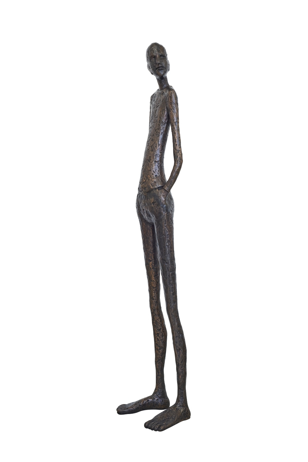 Flaneur Tina Heuter Standing man Foto Urs Kuckertz © Courtesy by the artist & mianki gallery