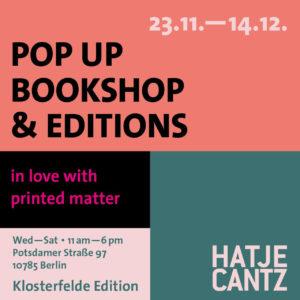 Klosterfelde Editionen Berlin