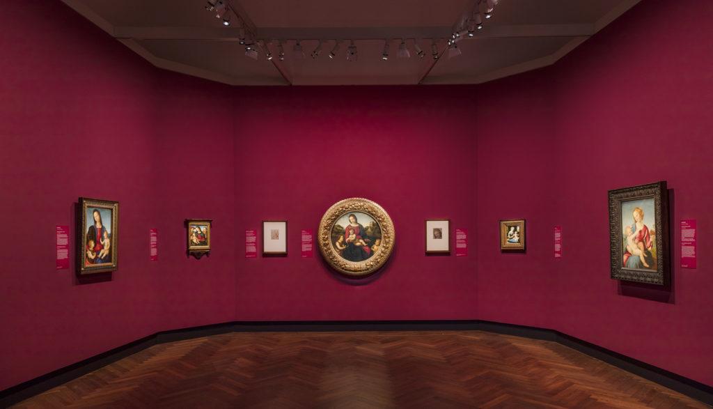 Raffael in Berlin. Die Madonnen der Gemäldegalerie, Ausstellungsansicht, 2019, © Staatliche Museen zu Berlin, Gemäldegalerie / David von Becker